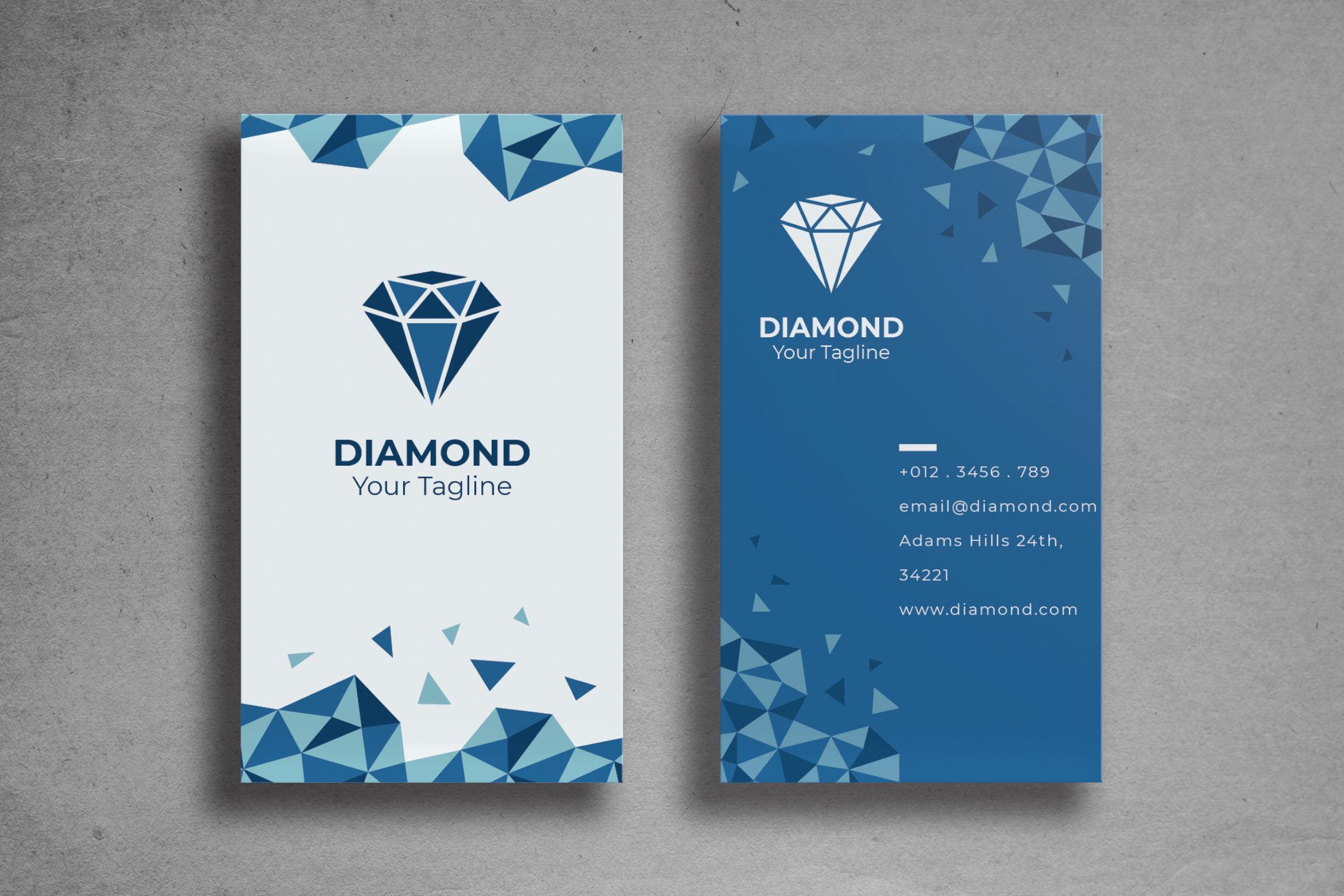 Business Card - Diamond Store Brand