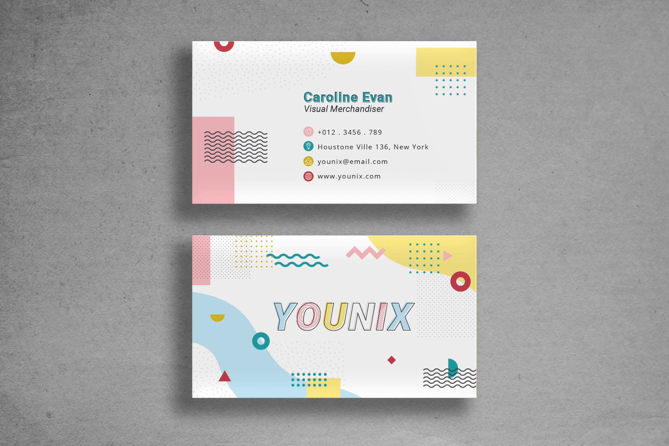 Business Card - Visual Designer Namecard