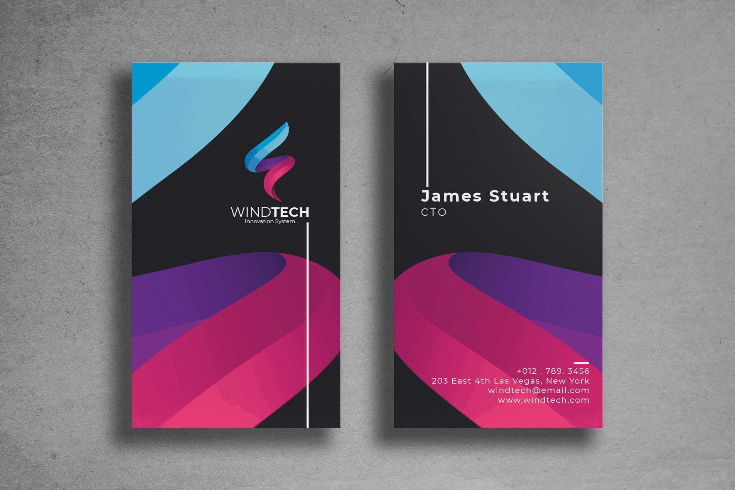 Business Card - Chief Identity Cards