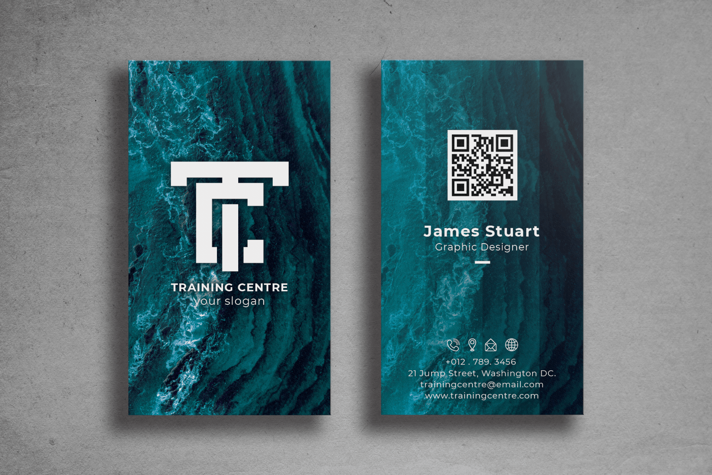 Business Card - Graphic Designer Profile