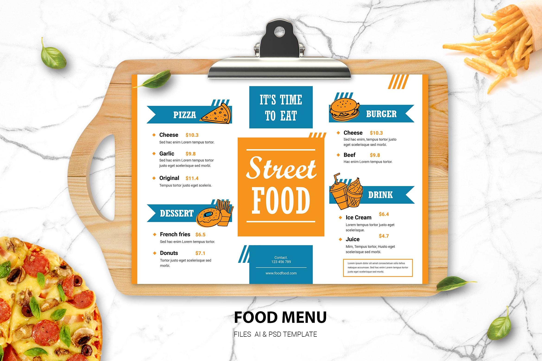 Food Menu - Street Food