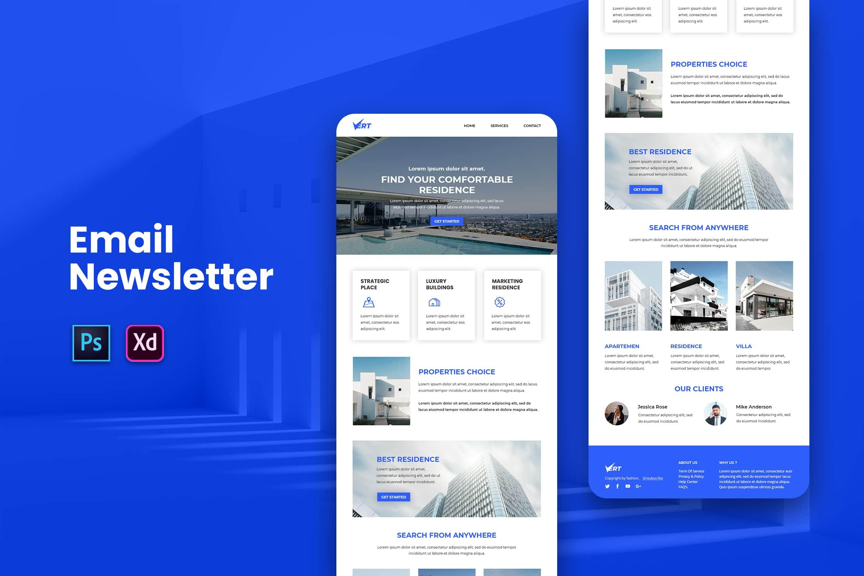 Comfortable Residence - Email Newsletter