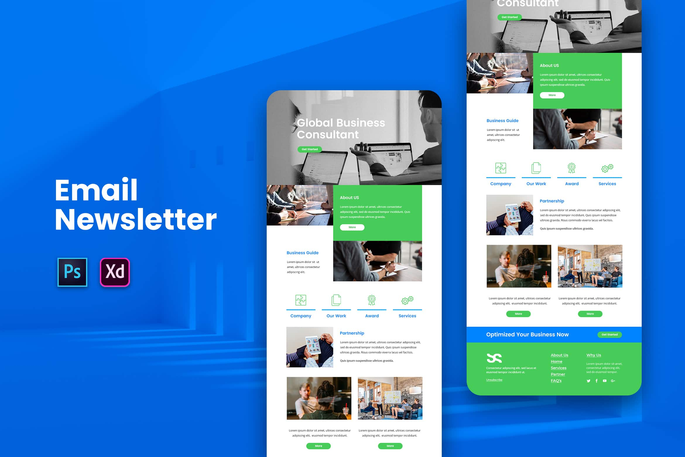Global Business Consultant - Email Newsletter