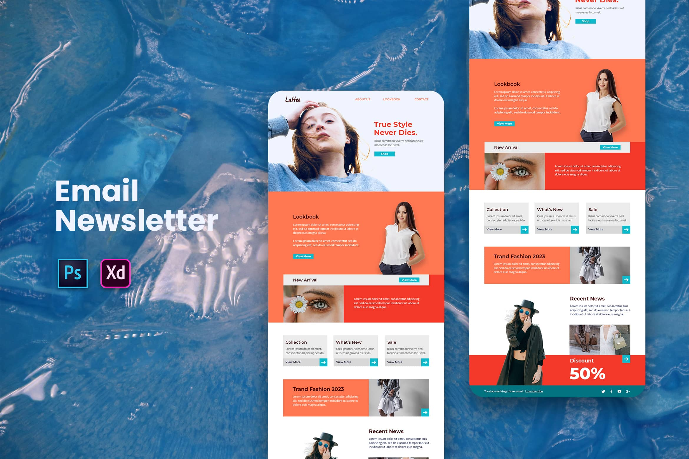 Fashion Trendy - Email Newsletter