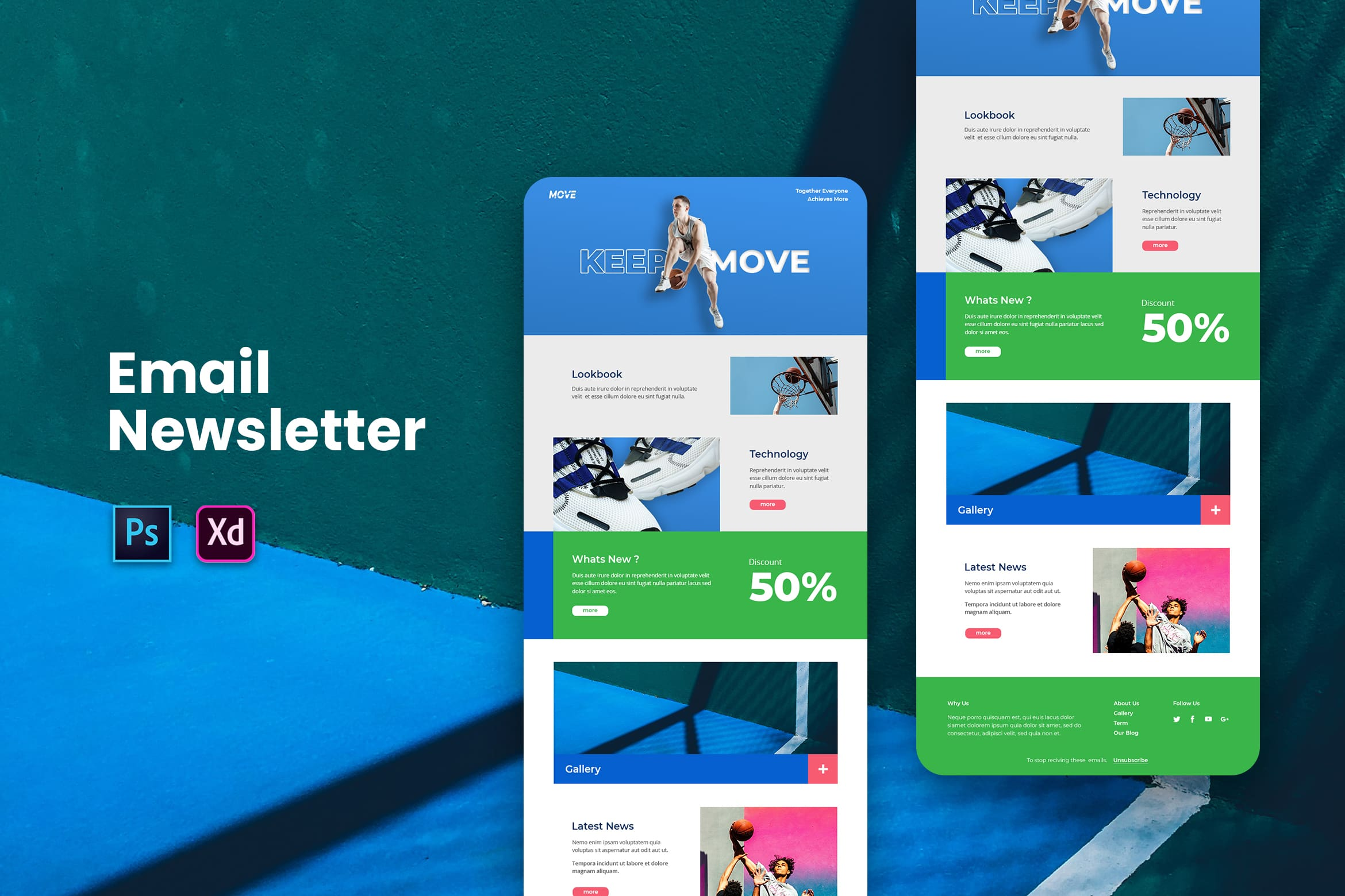 Sporty Shoes - Email Newsletter