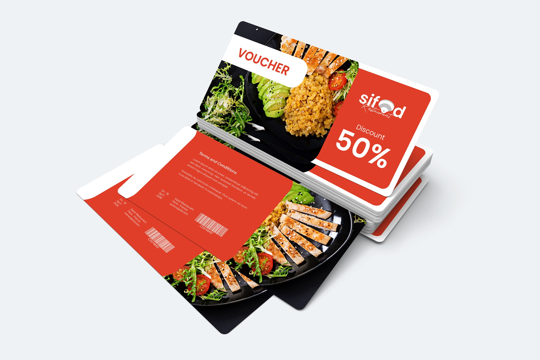 Gift Card Voucher - Seafood Resaurant Discount
