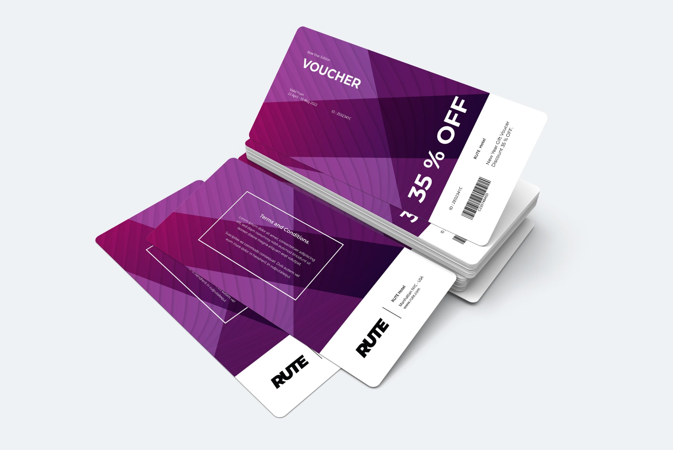 Gift Card Voucher - Hotel Promotion