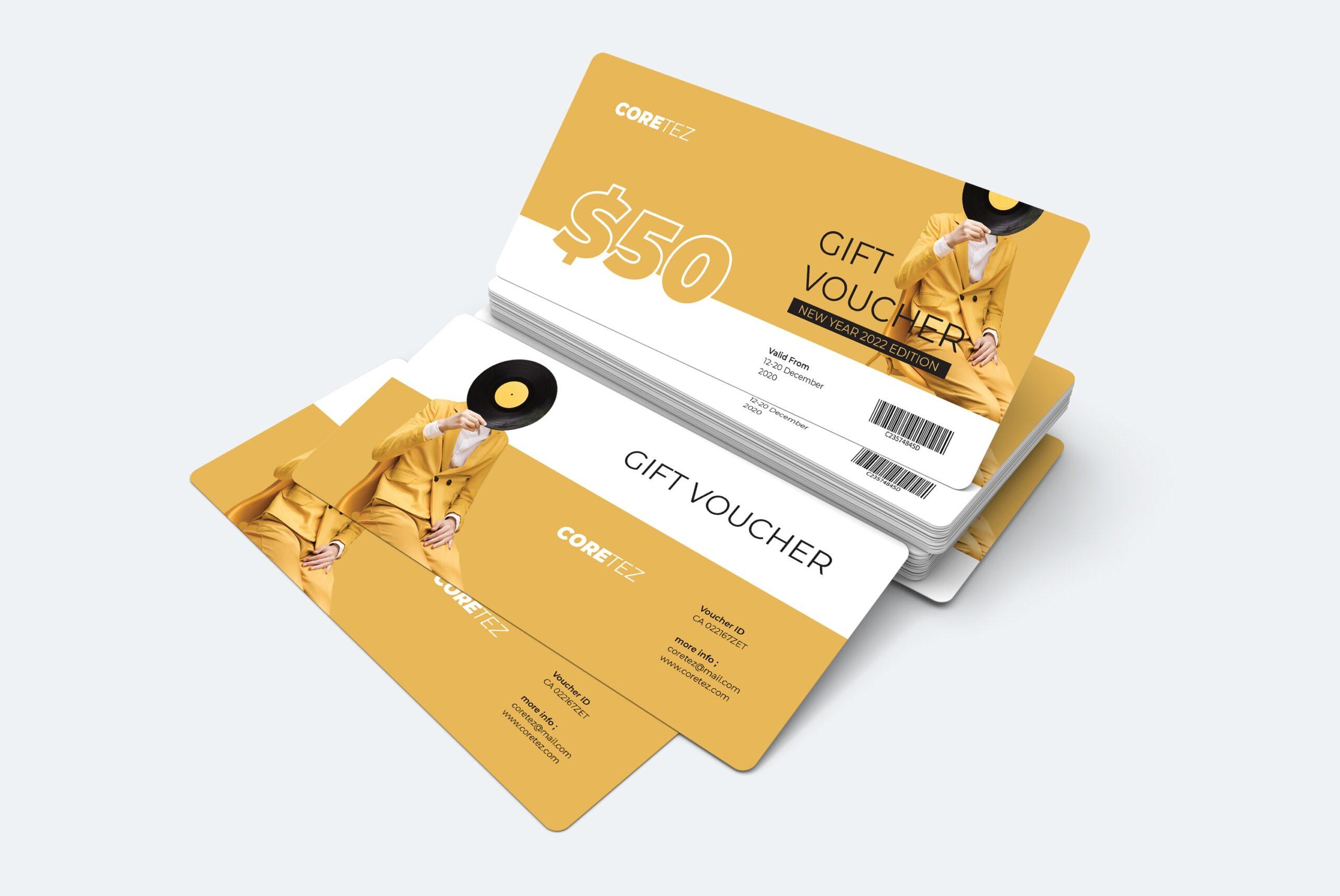 Gift Card Voucher - New Year Fashion
