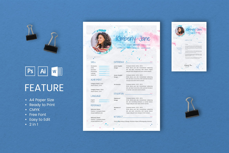 CV Resume – Copywriter Profile 5