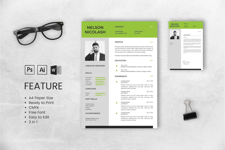 CV Resume – Creative Designer 2