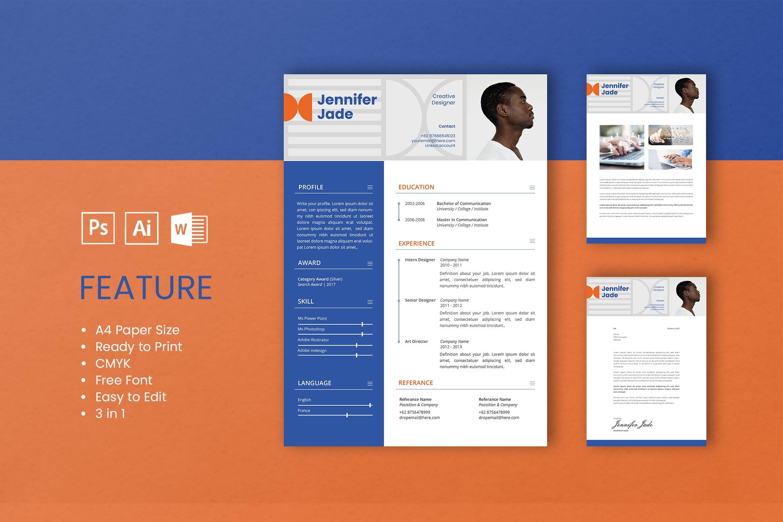 CV Resume - Creative Designer Profile