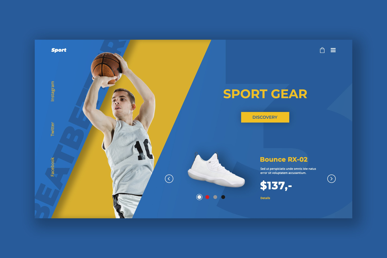 Hero Header - Sports Gear Store