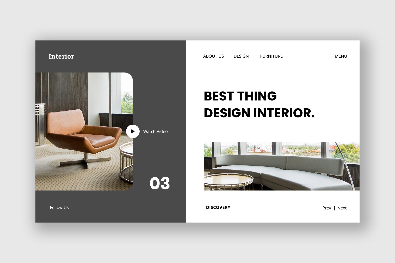 Hero Header - Design Interior Service