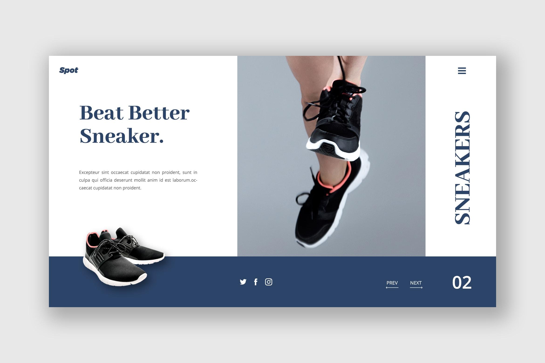 Hero Header - Beat Sneaker Shoes