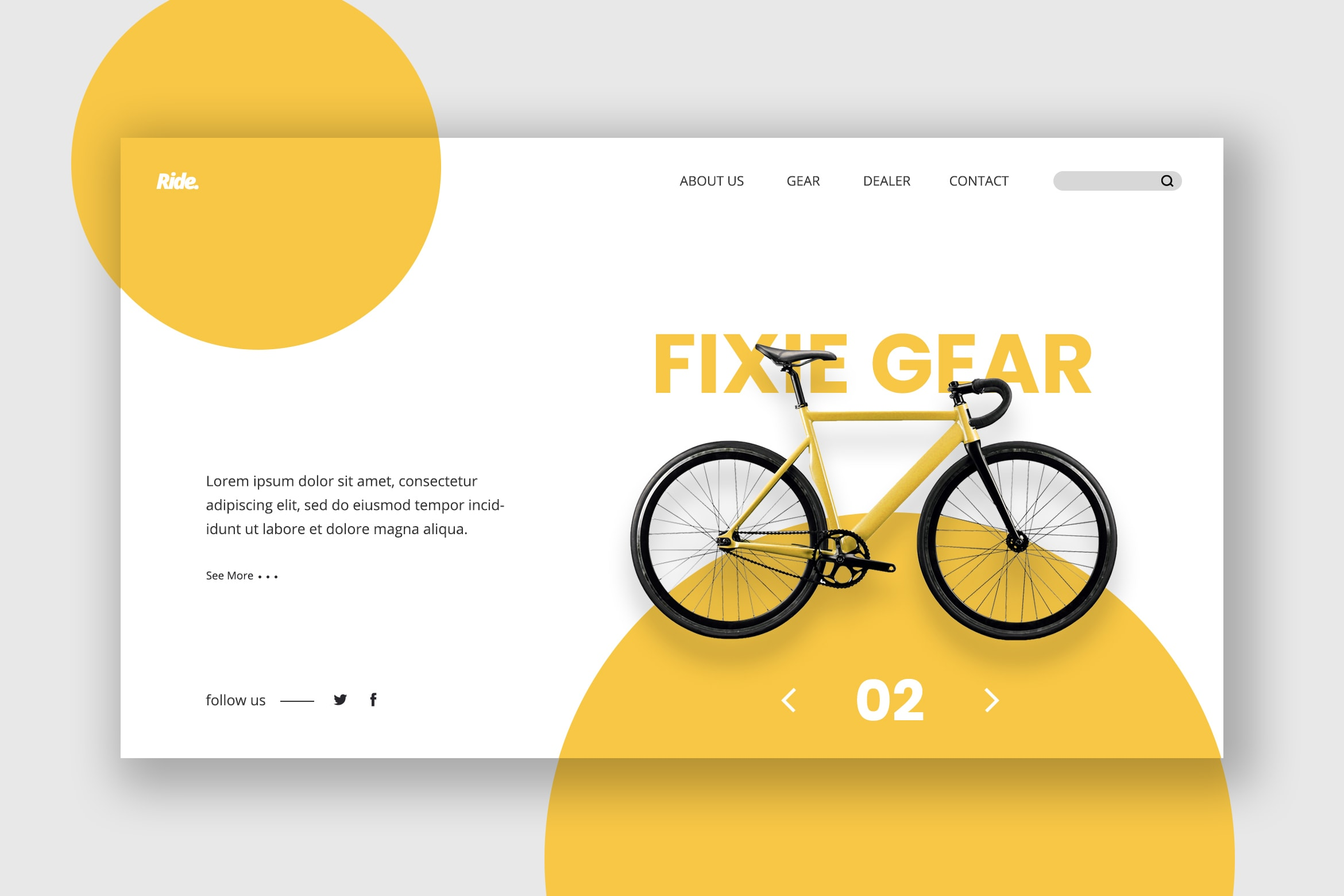 Hero Header - Bicycle Dealer Service