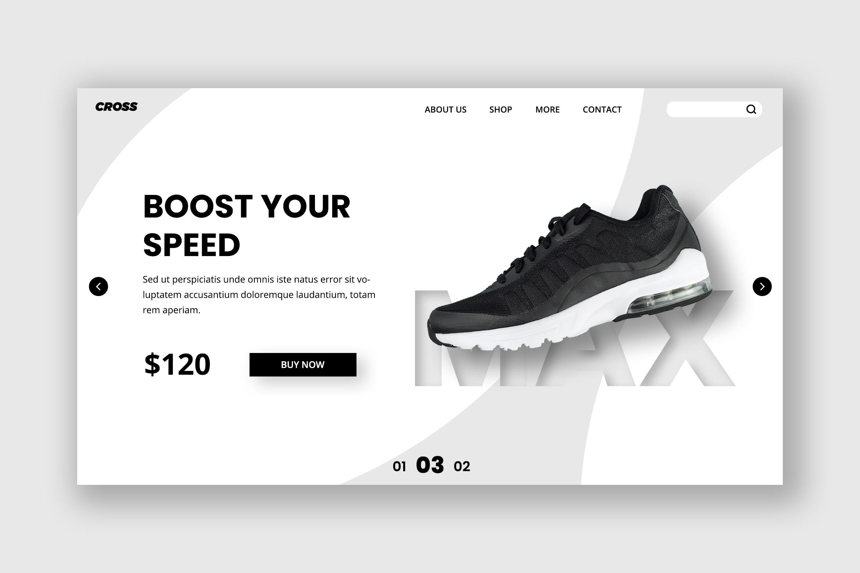 Hero Header - Speed Shoes Store