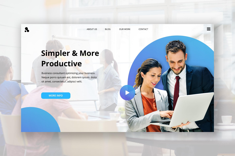 Hero Header - Business Consultant