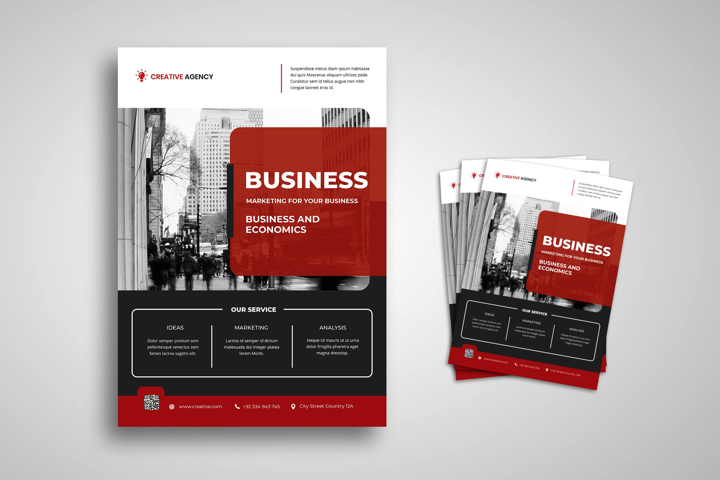 Flyer Template - Business Marketing Service