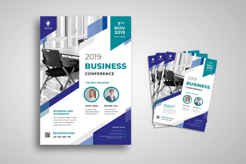 Flyer Template - Business Speaker