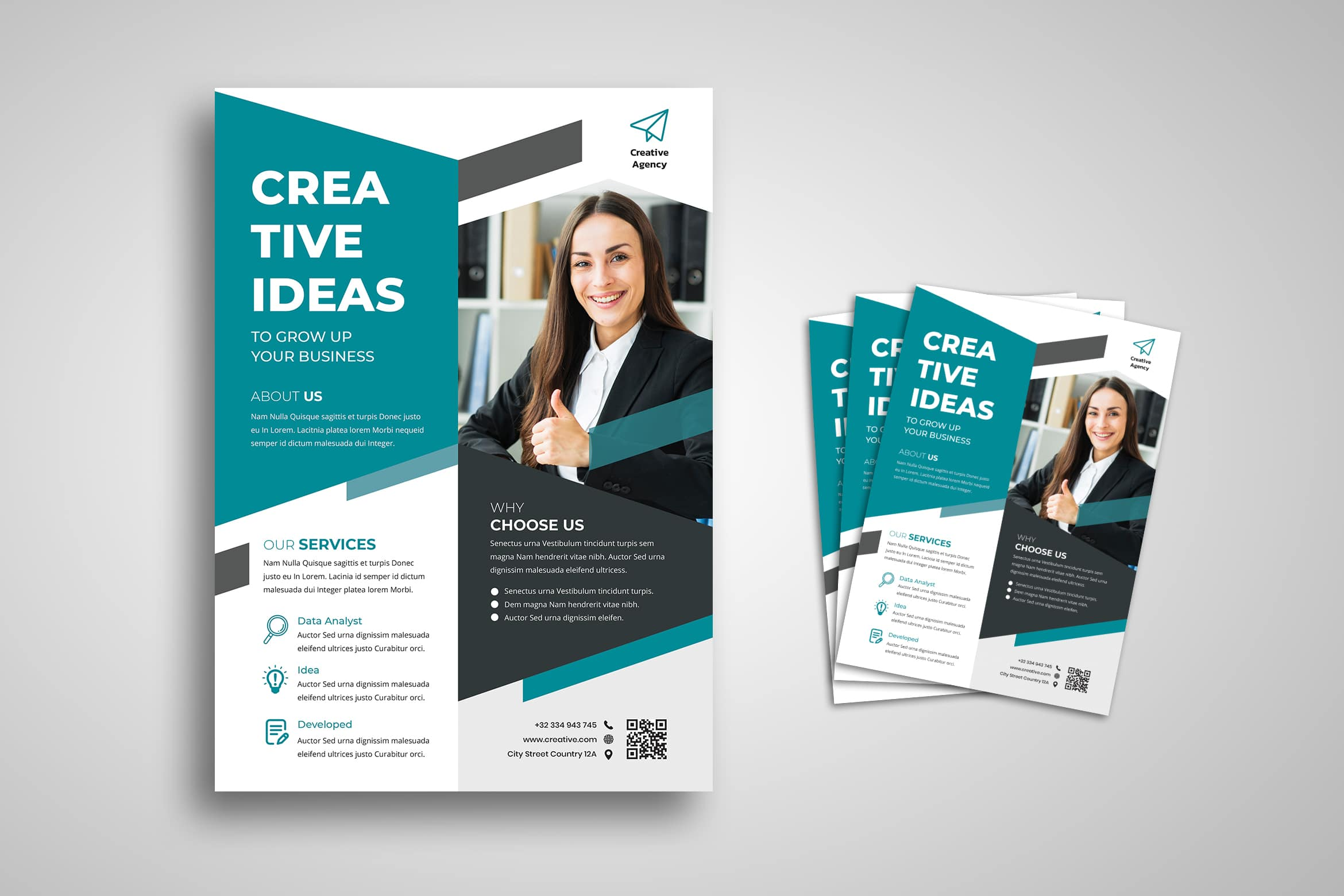 Flyer Template - Creative Idea Business