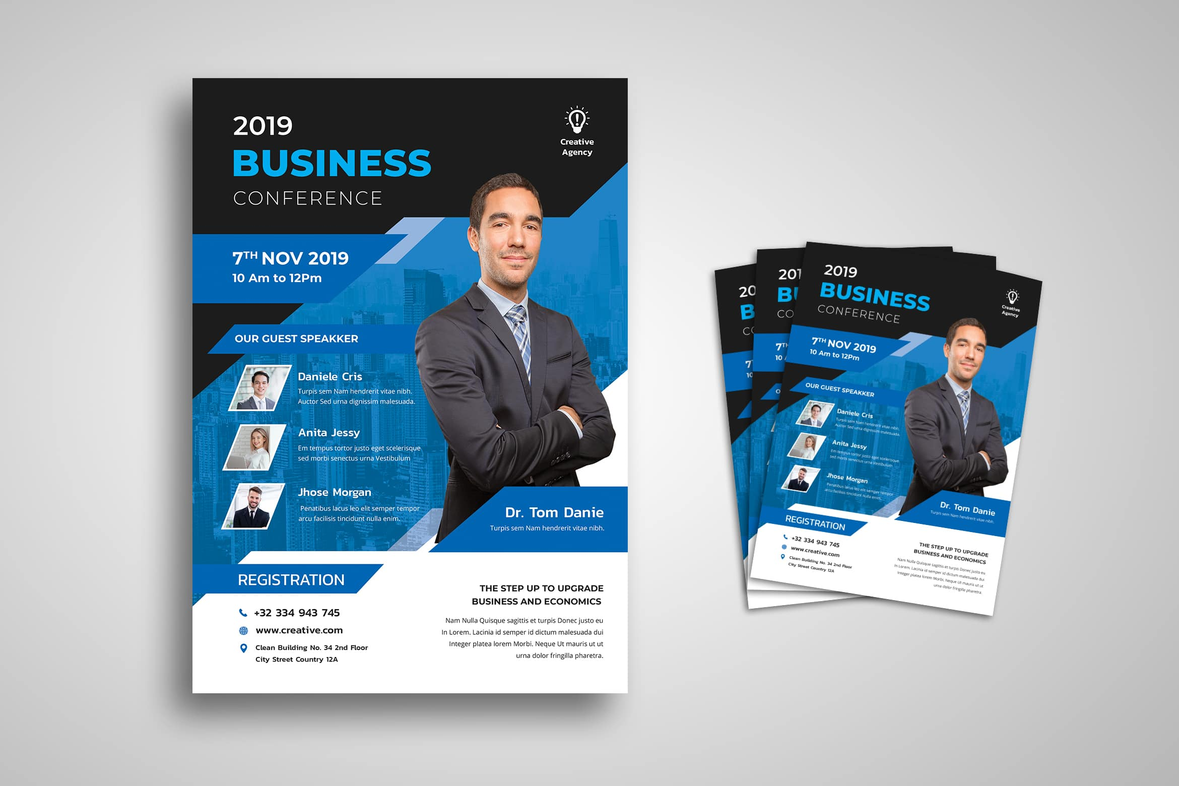 Flyer Template - Business & Economics Conference