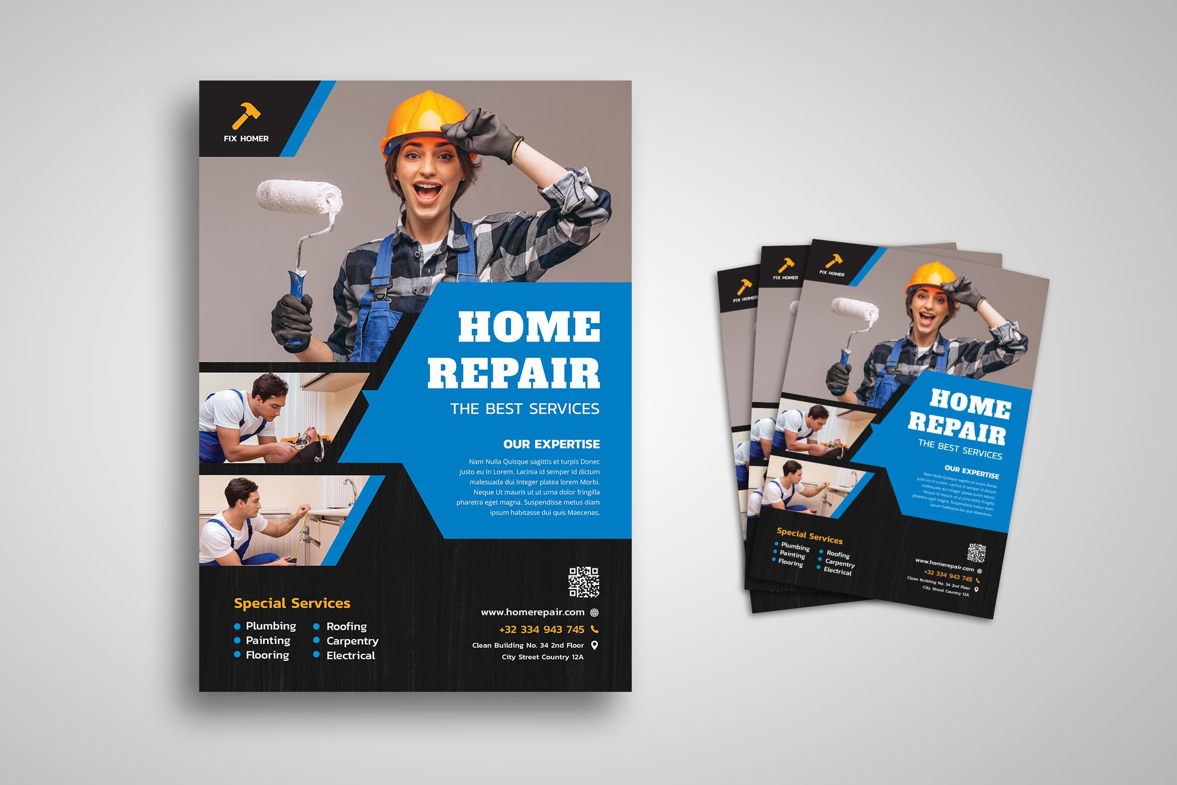 Flyer Template - Home Repair Service