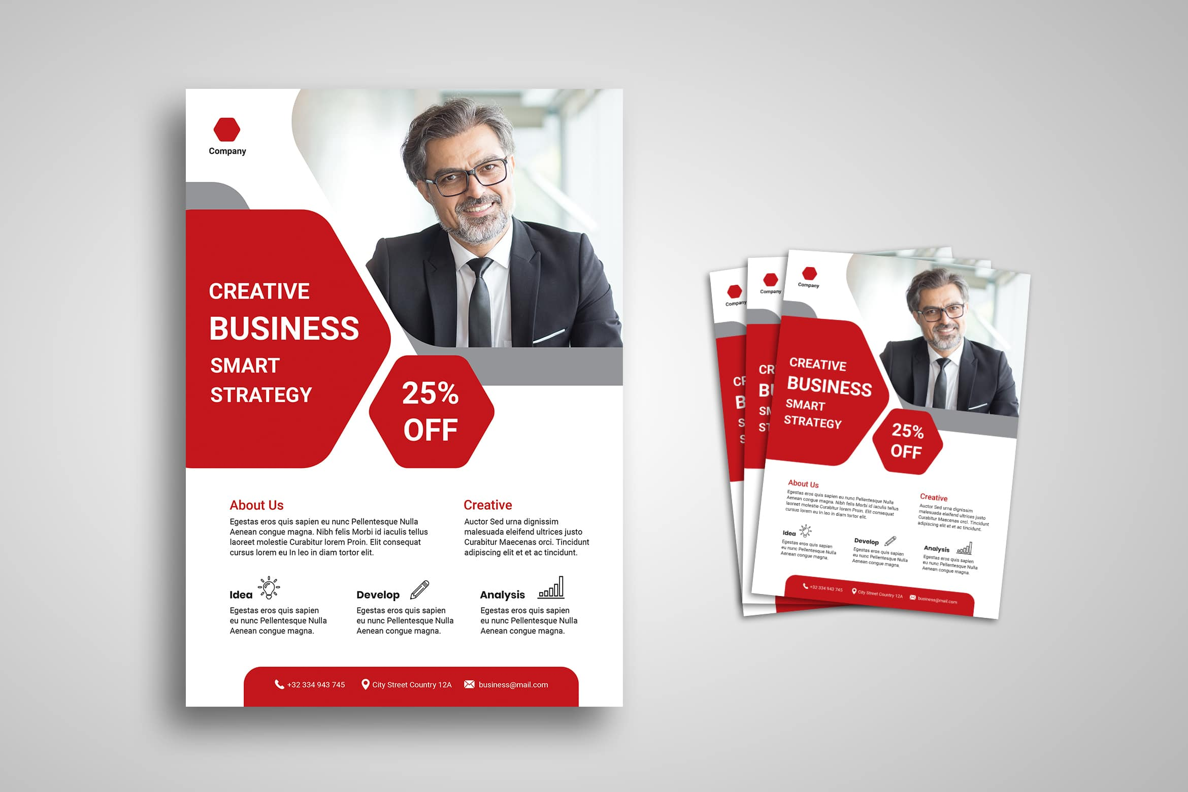 Flyer Template - Smart Business Strategy