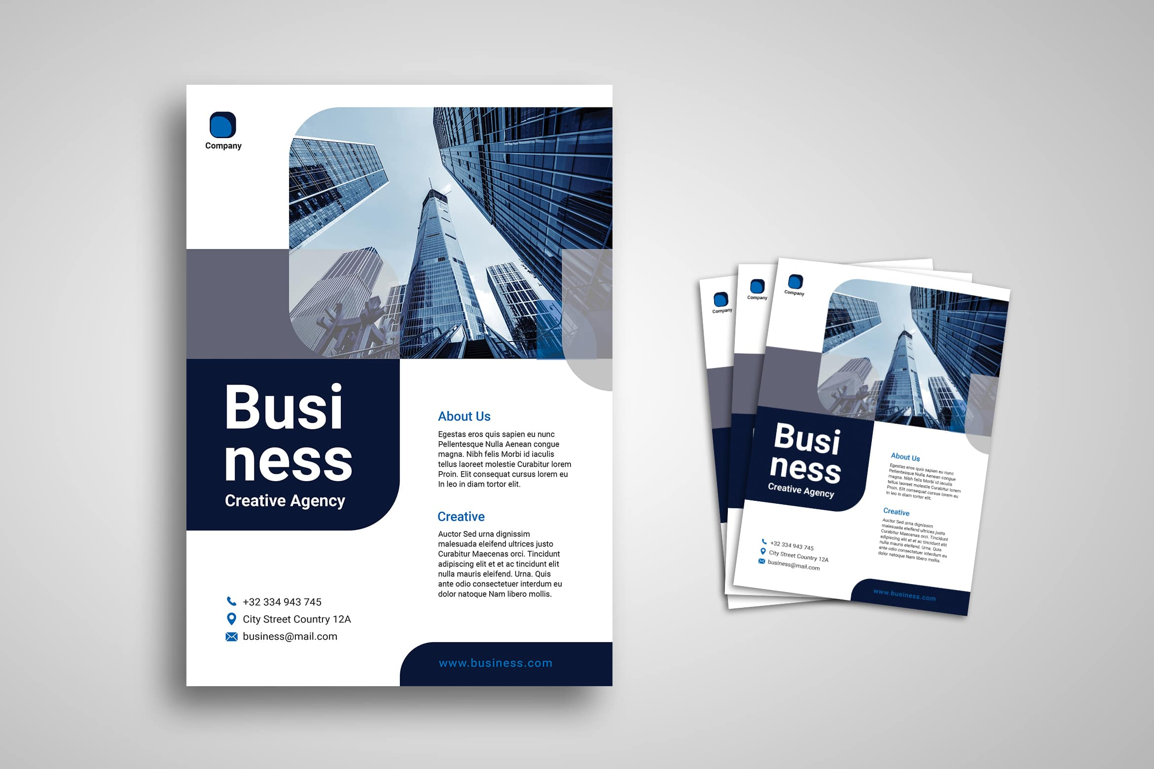 Flyer Template - Business Creative Agency