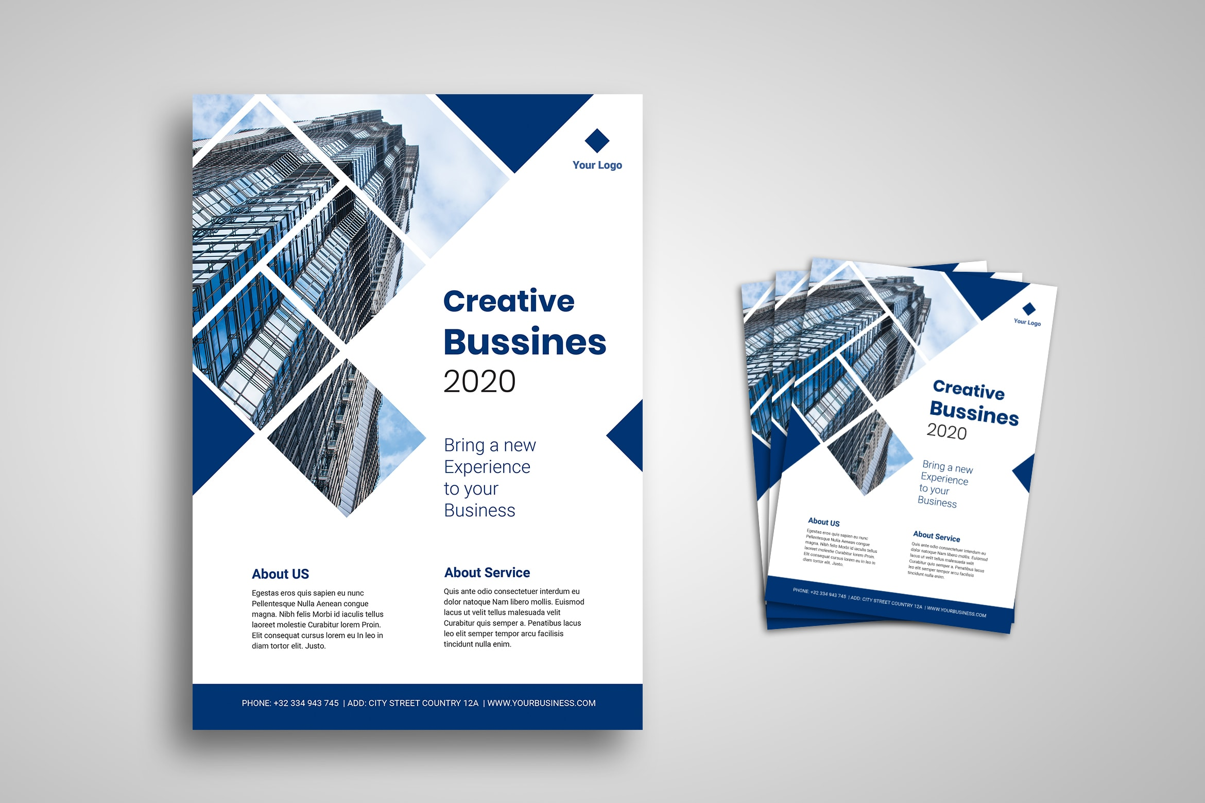 Flyer Template - Creative Business Experience