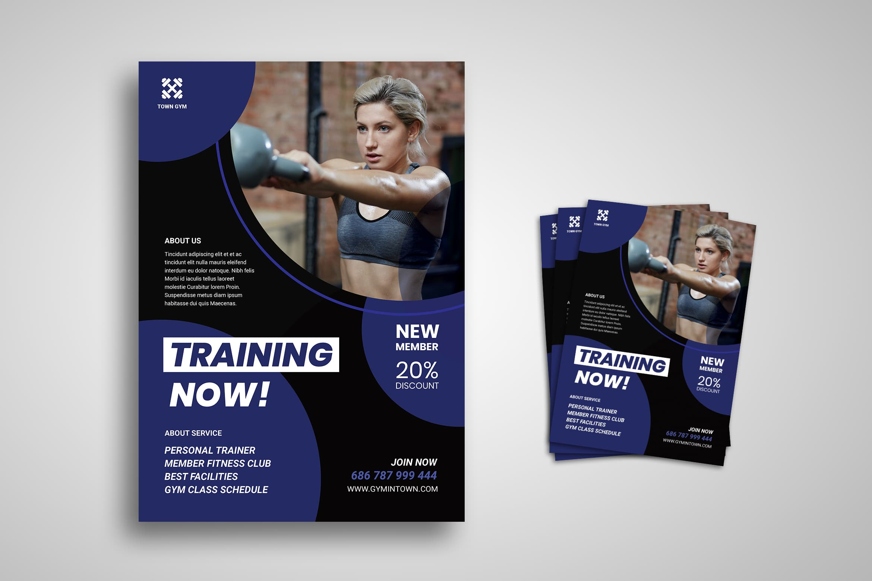 Flyer Template - Sport Training Club