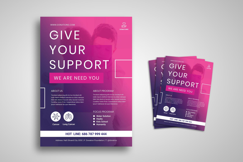 Flyer Template - Social Support Program