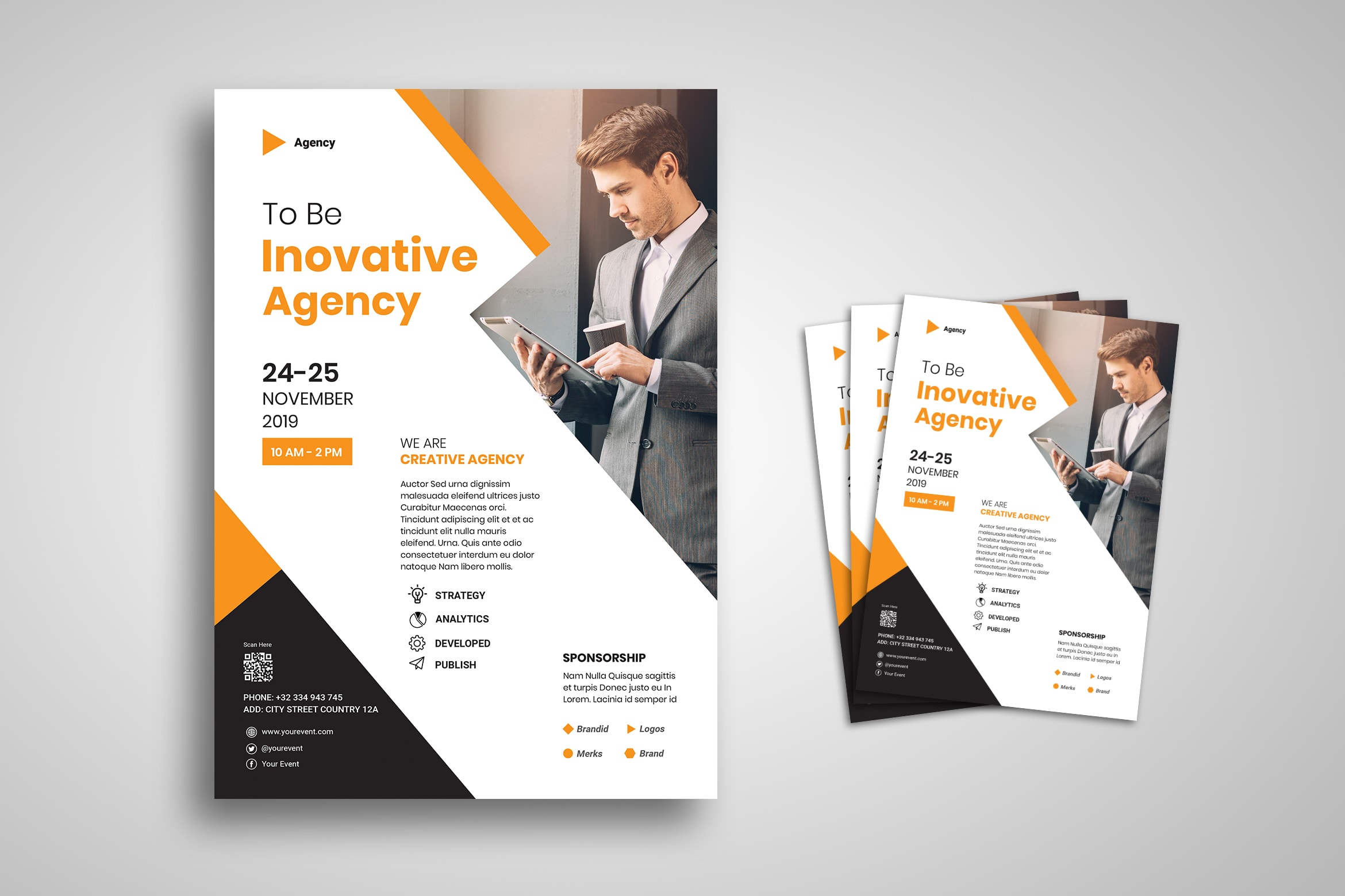 Flyer Template - Innovation Agency Promotion