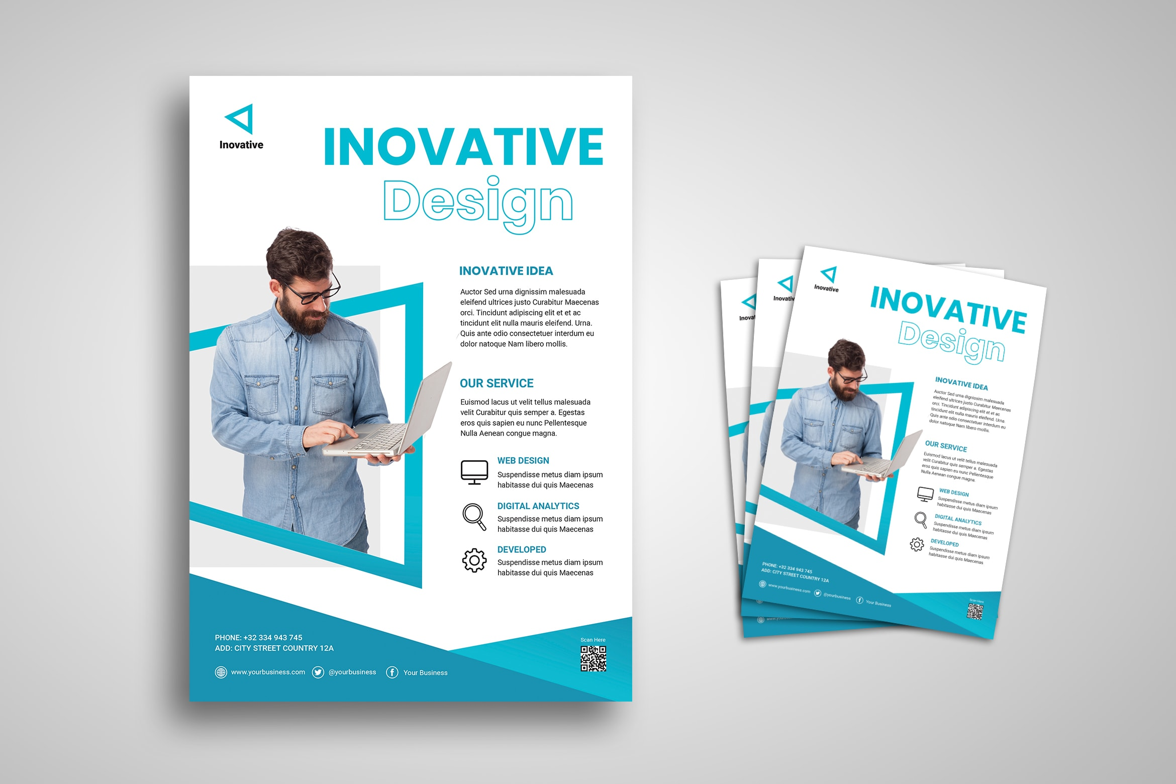 Flyer Template - Innovative Design Agency