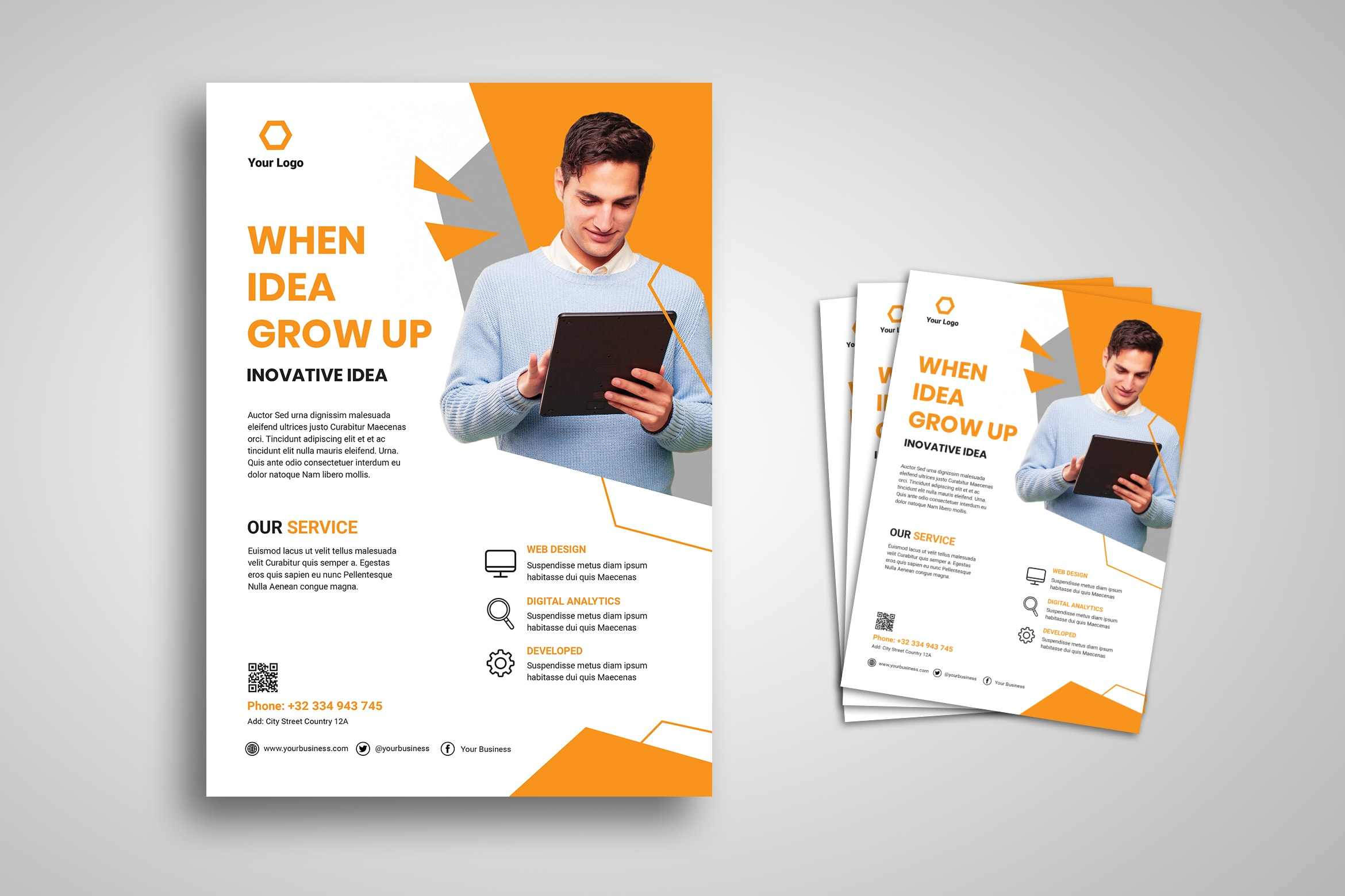 Flyer Template -Digital Creative Company