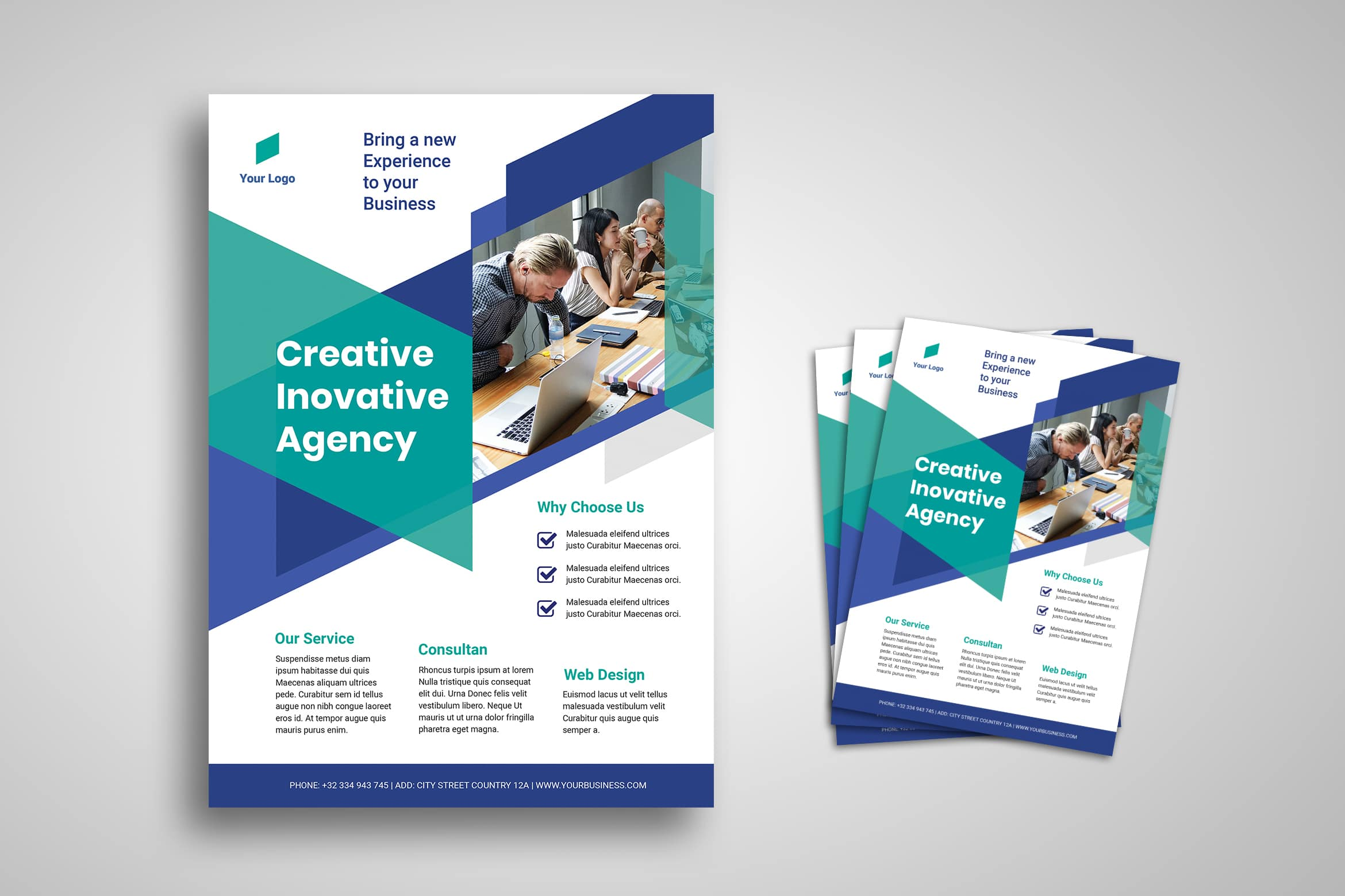 Flyer Template - Creative Corporation