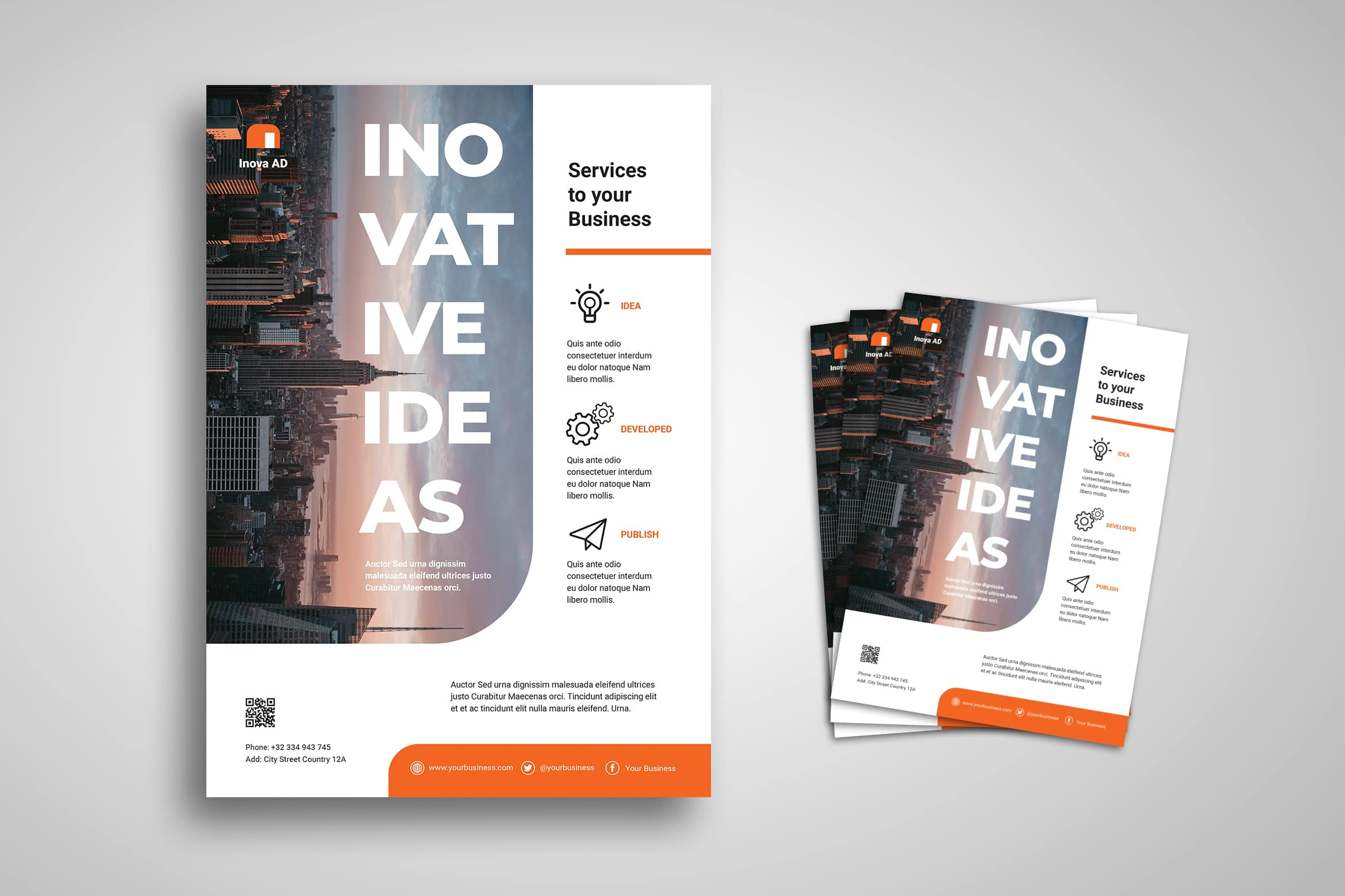 Flyer Template - Innovation Bussines Service
