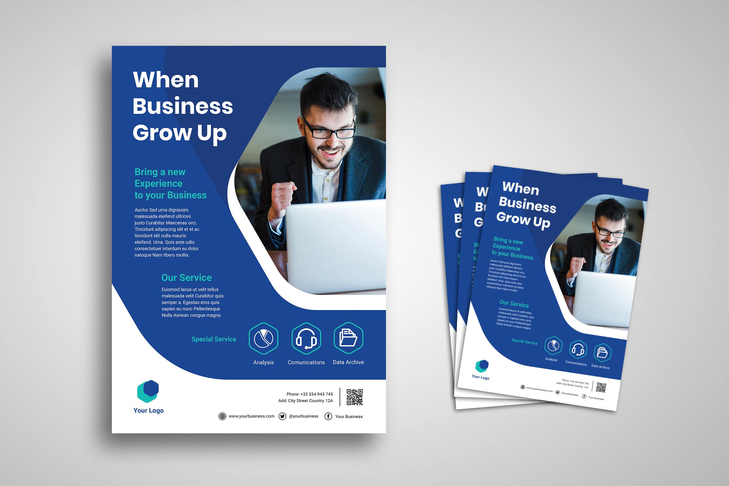 Flyer Template - Bussines Growth