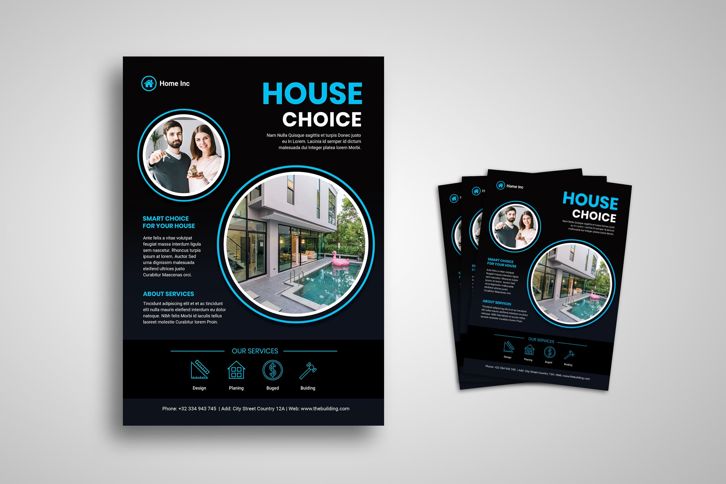 Flyer Template - House Management Services