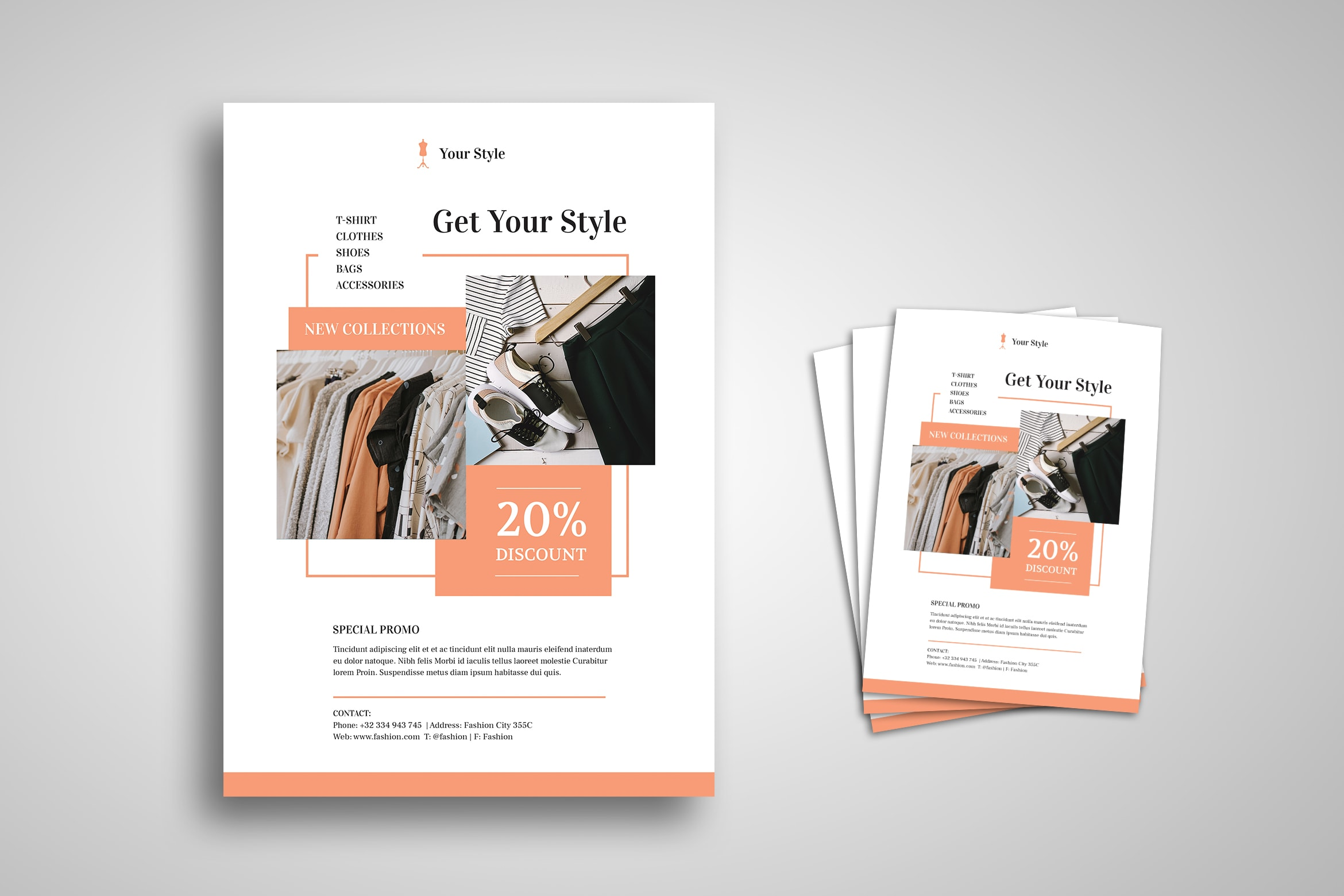 Flyer Template - Clothing Store Discount