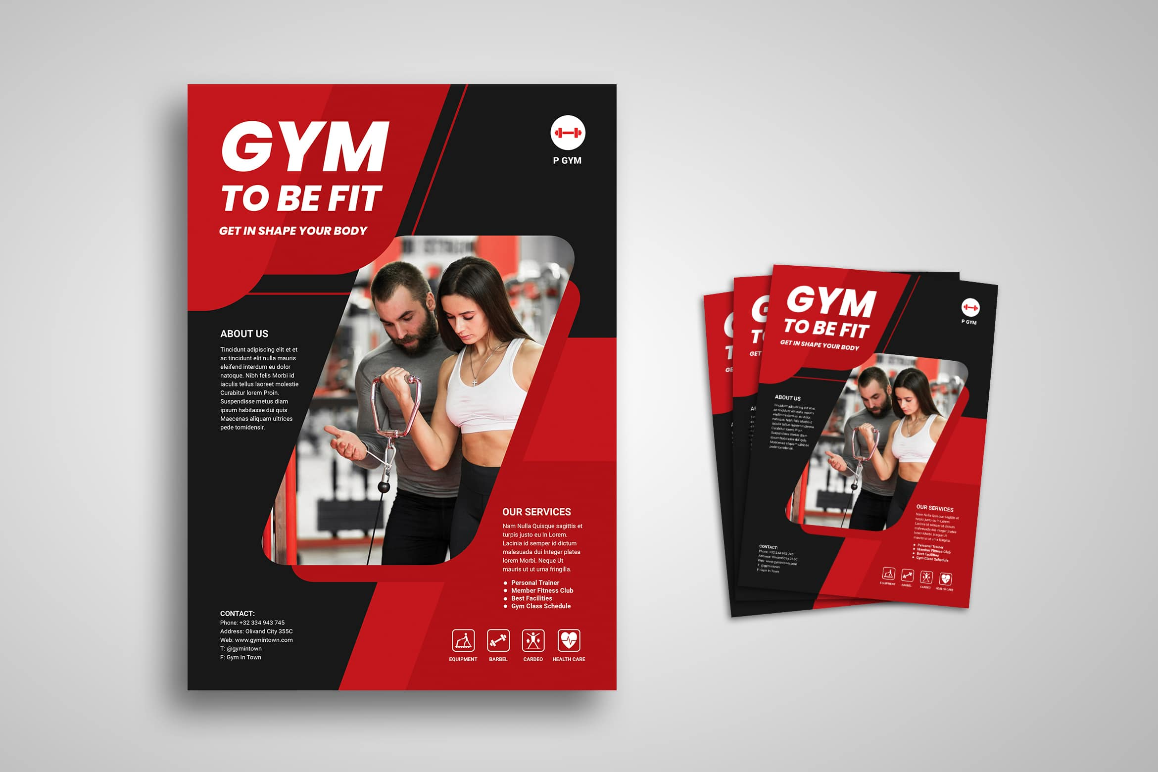 Flyer Template - Fitness Service