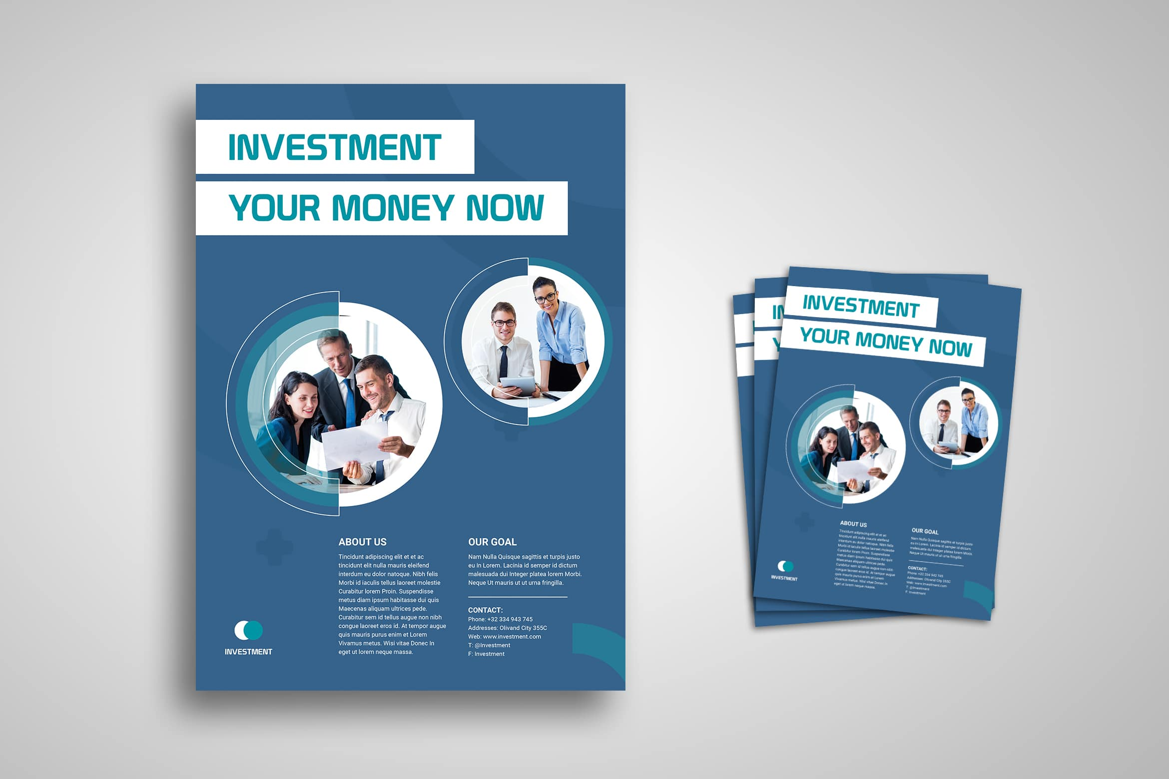Flyer Template - Investment Professional Service