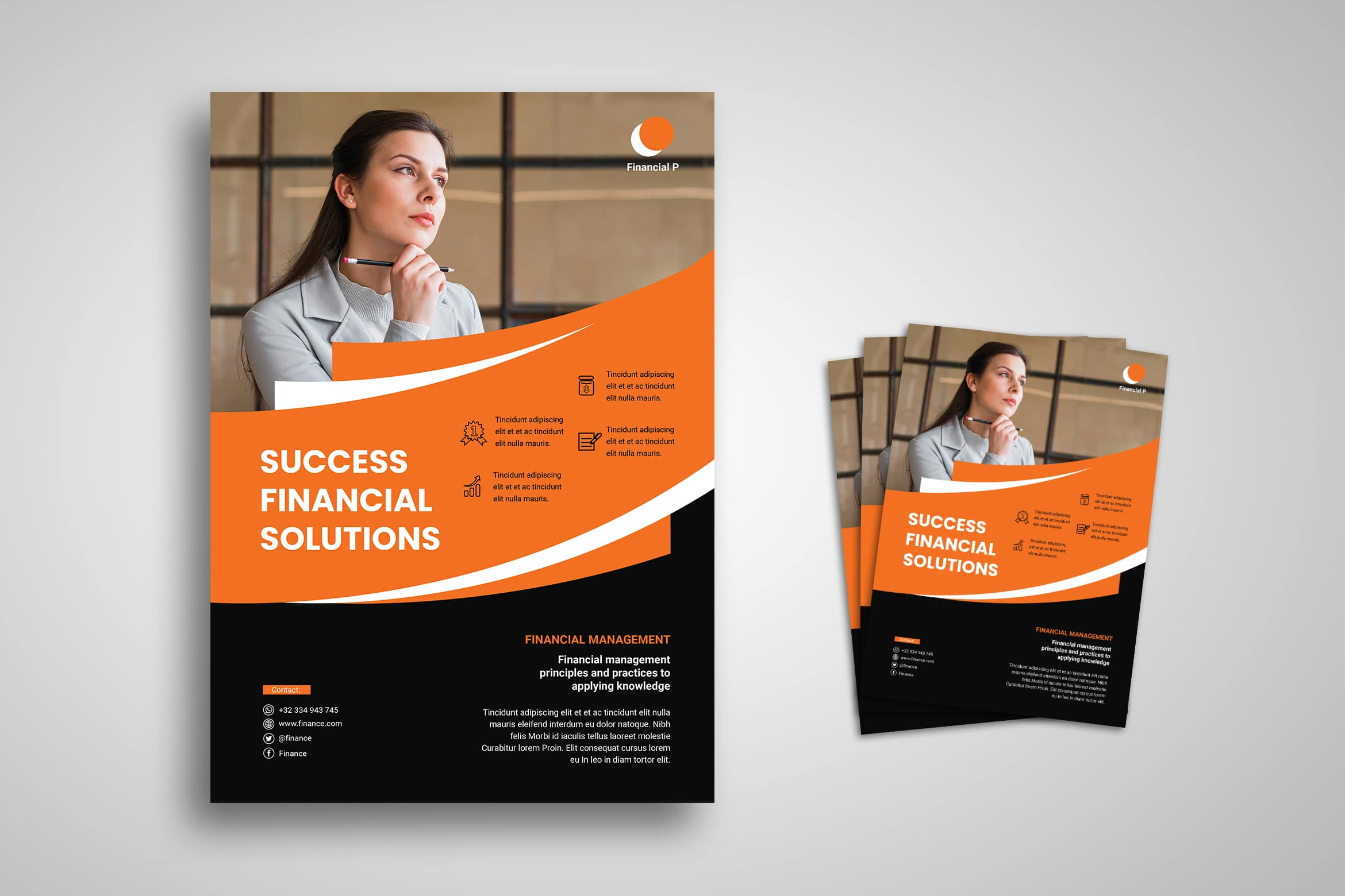 Flyer Template - Financial Solution Company