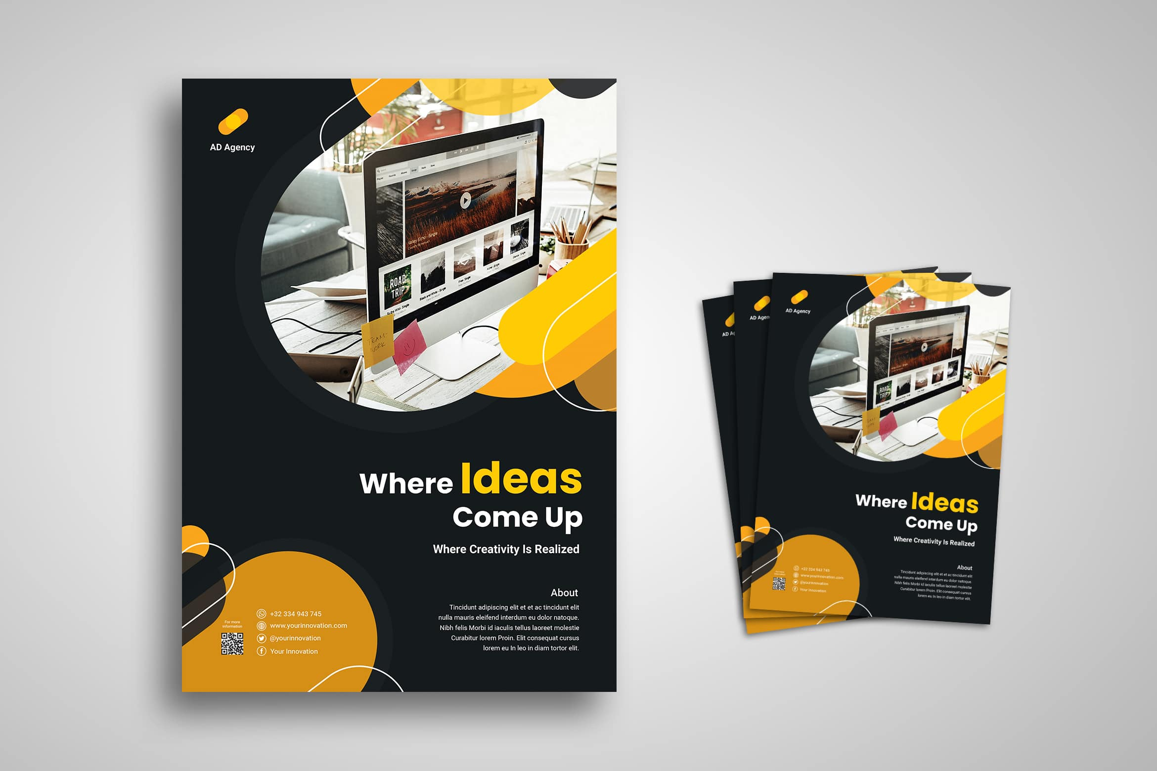 Flyer Template - Creative Idea Company