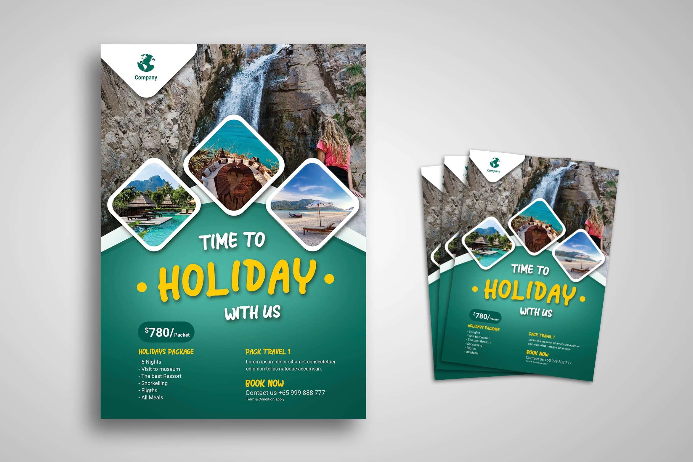 Flyer Template - Holiday Time