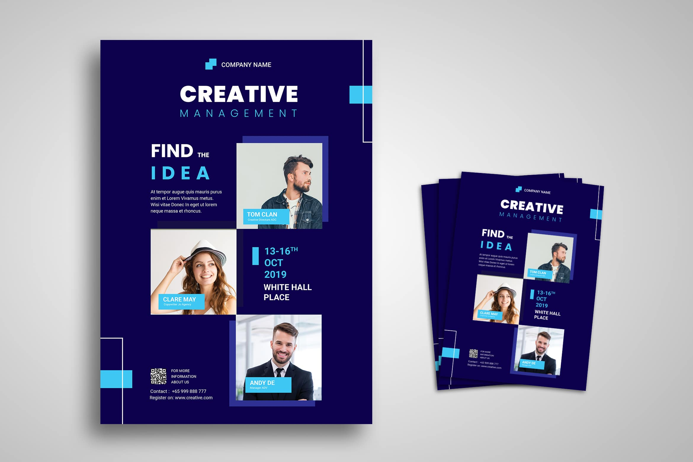 Flyer Template - Creative Management Company