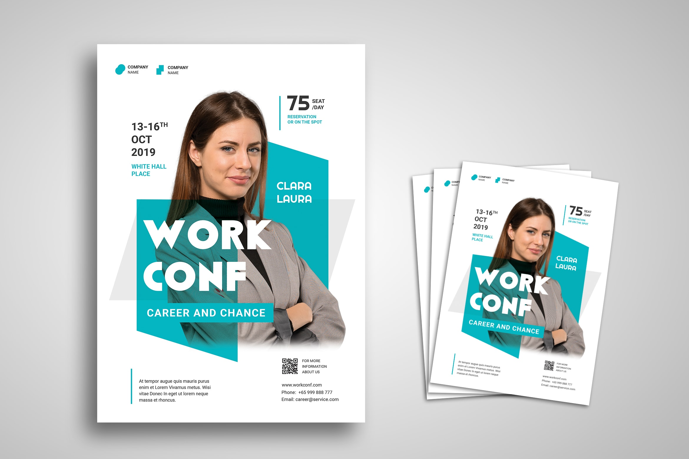Flyer Template - Work Career Conference