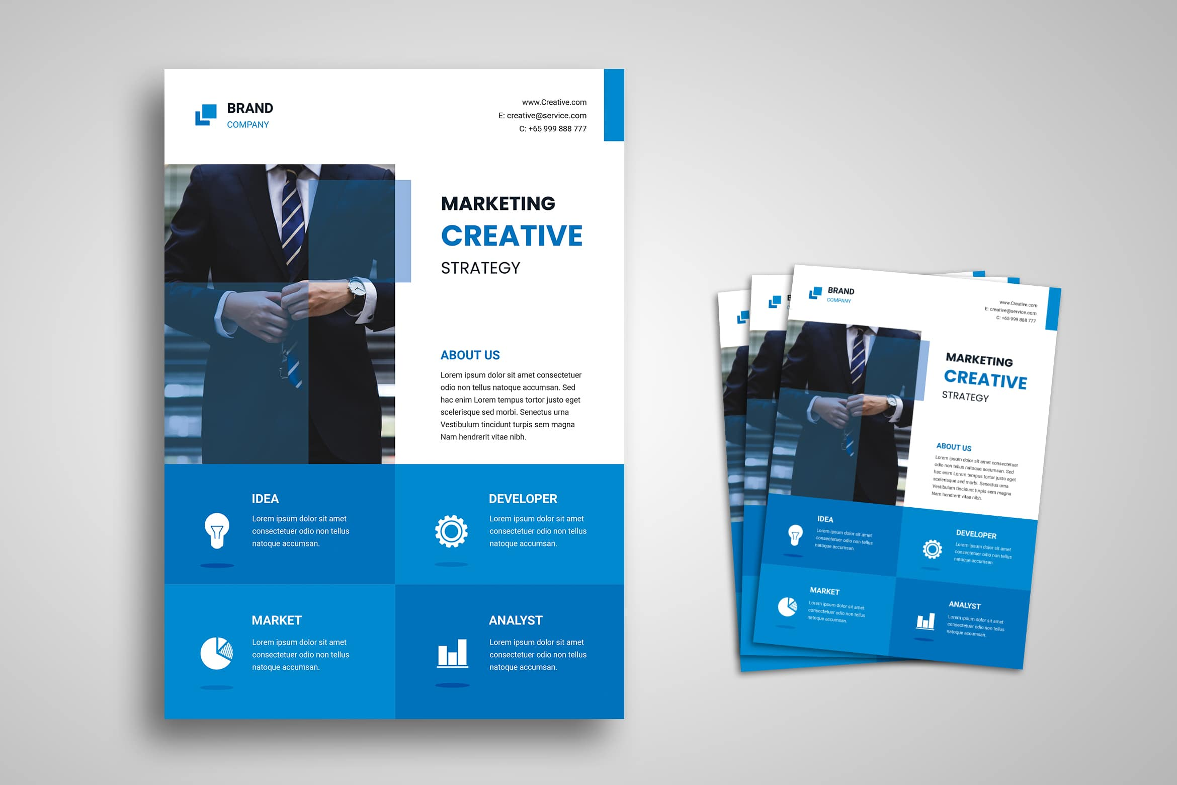 Flyer Template - Creative Marketing
