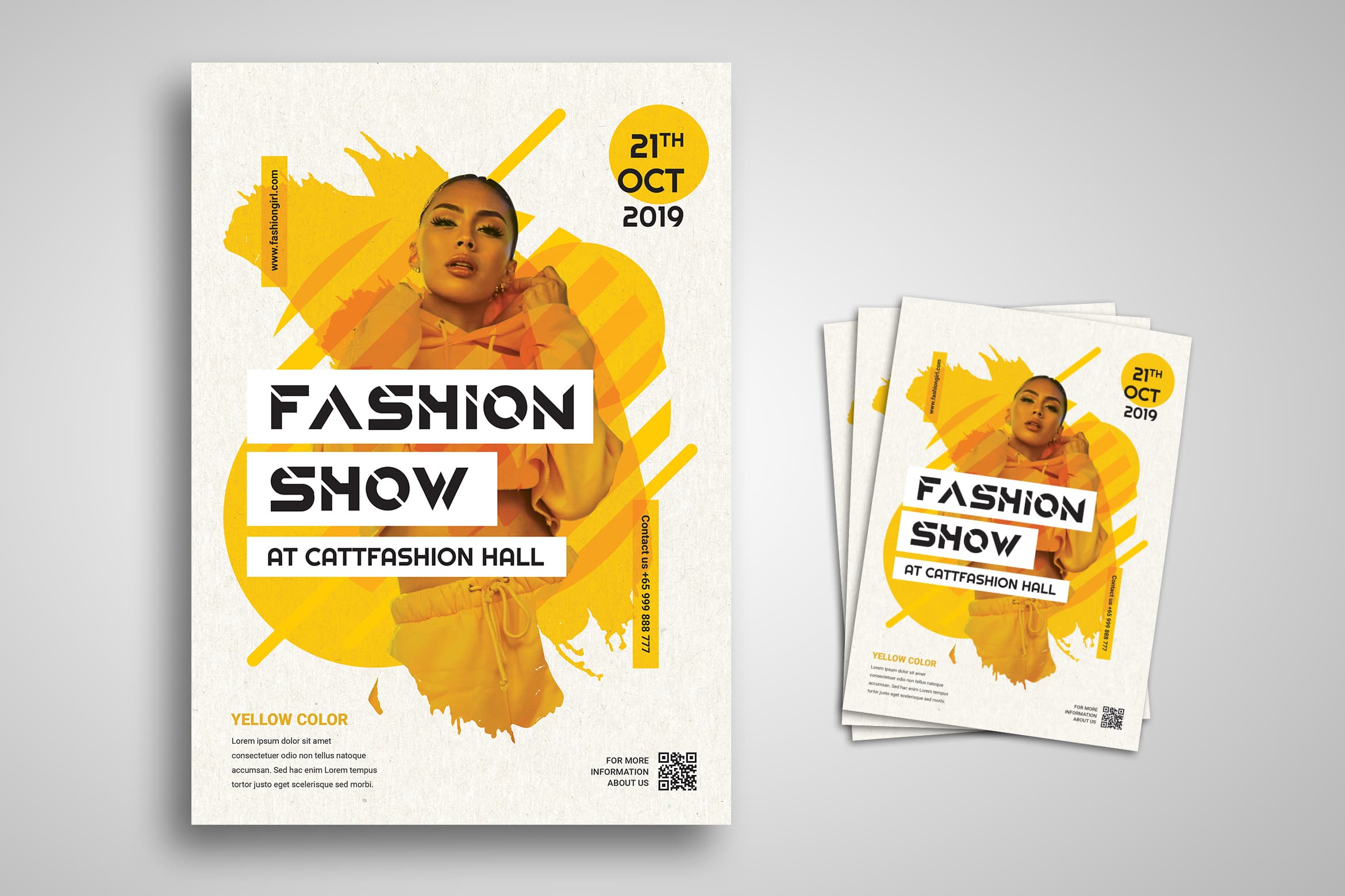 Flyer Template - Catwalk Fashion Show