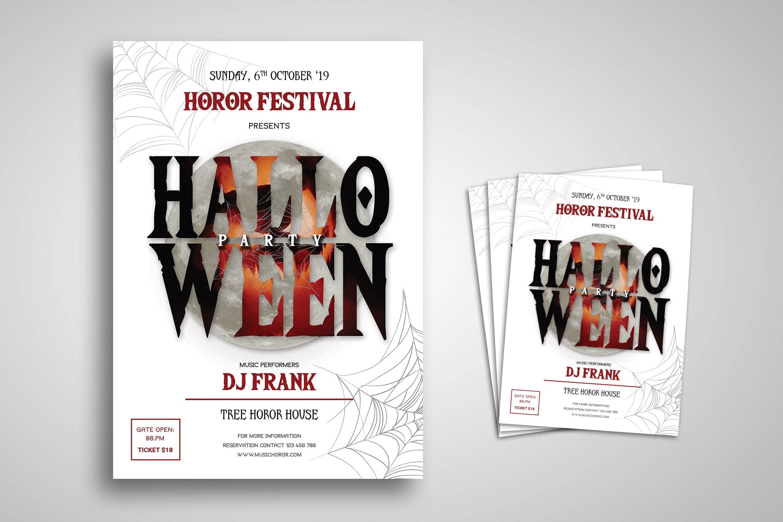 Flyer Template - Halloween Festival