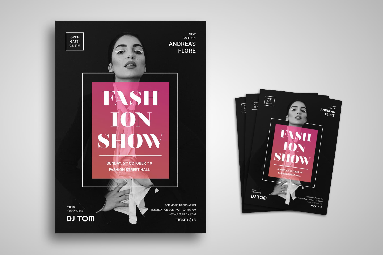 Flyer Template - Fashion Show Modern